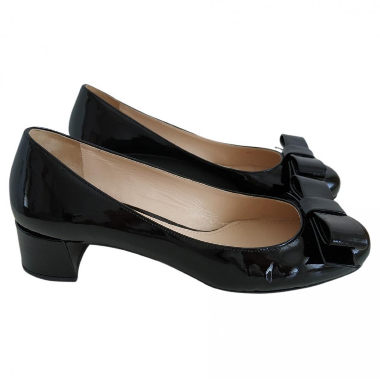 Prada \N Black Patent leather Heels for Women 36.5 EU
