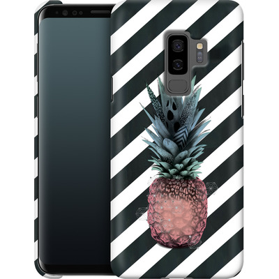 Samsung Galaxy S9 Plus Smartphone Huelle - Pink Pineapple von Victoria Topping