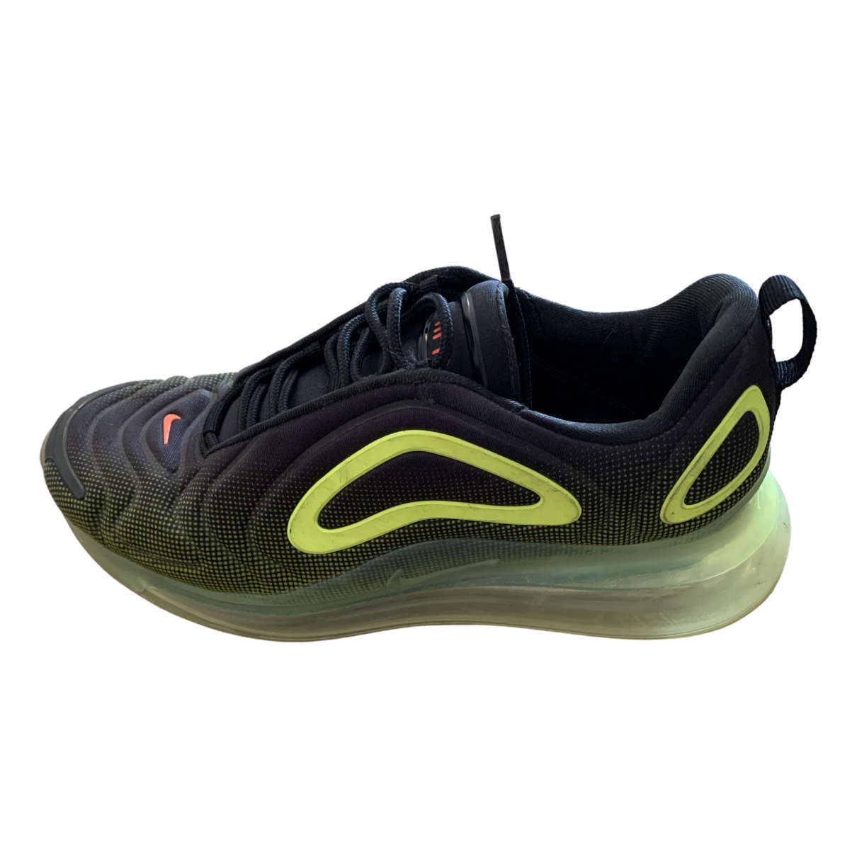 Nike - Baskets Air Max 720 pour homme en caoutchouc - noir