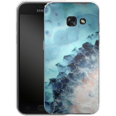 Samsung Galaxy A3 (2017) Silikon Handyhuelle - Ocean Agate von Emanuela Carratoni