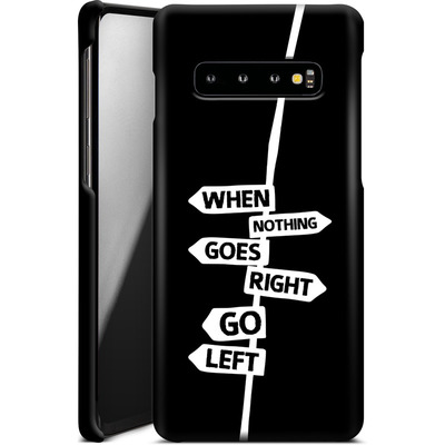 Samsung Galaxy S10 Smartphone Huelle - When Nothing Goes Right von We Make The Cake