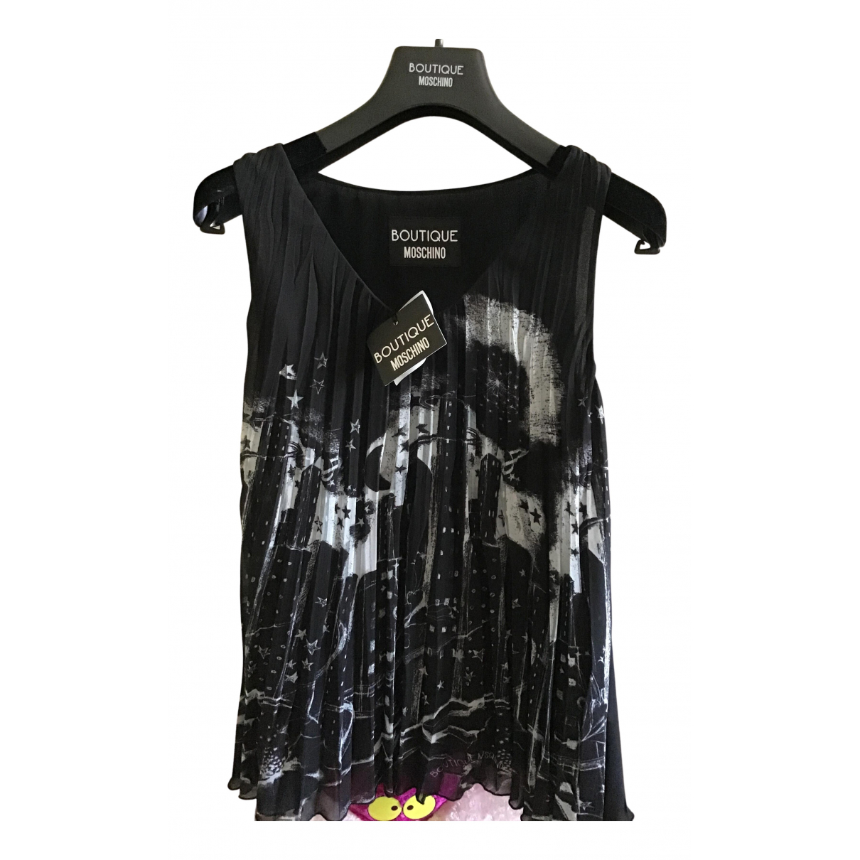 Moschino N Black  top for Women 38 IT