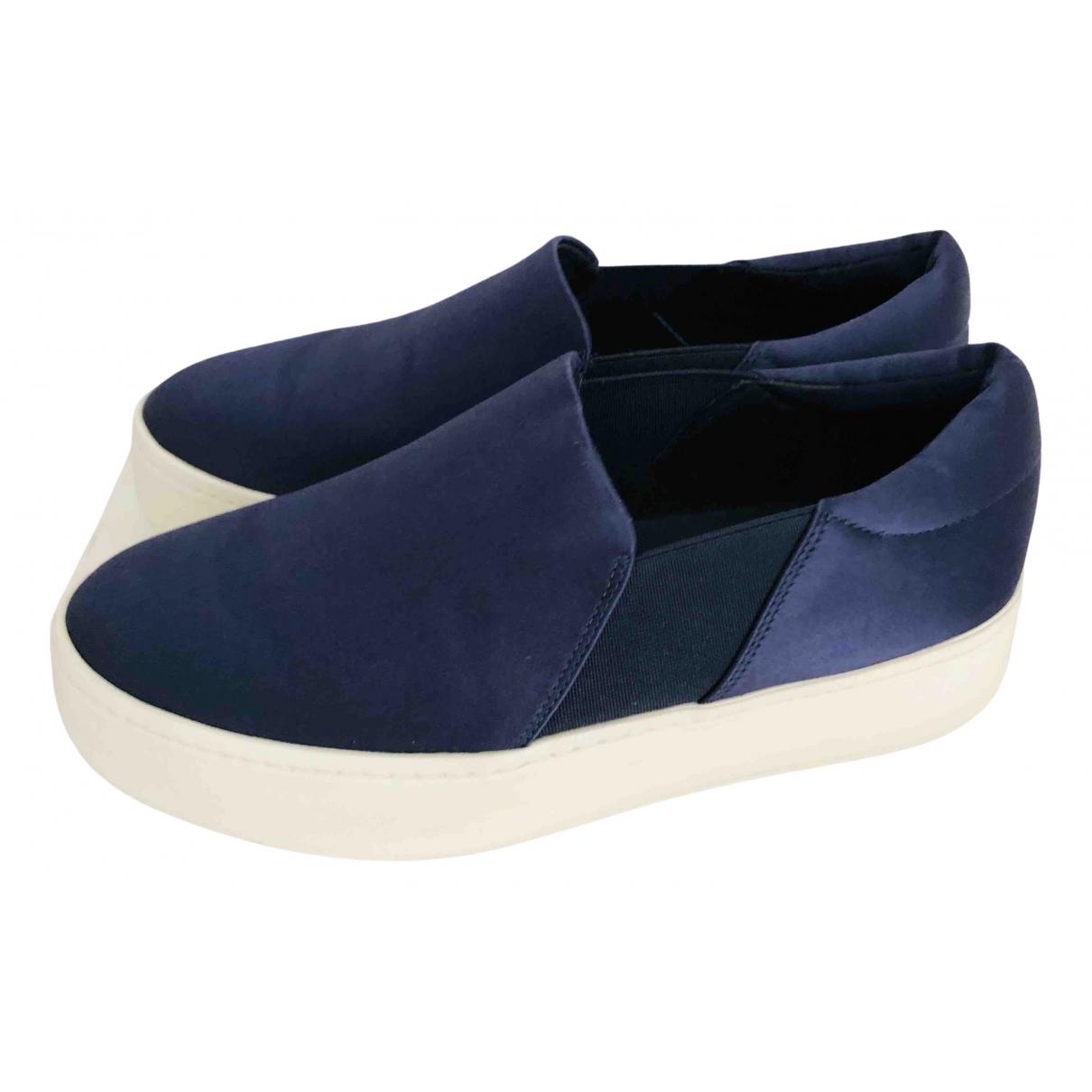 Vince \N Blue Cloth Trainers for Women 36 EU