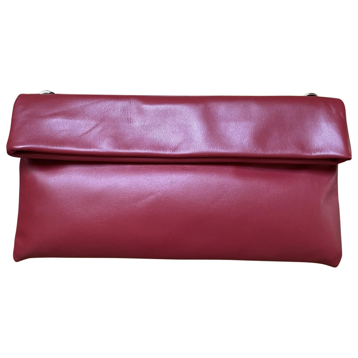 Gianni Chiarini \N Clutch in  Rot Leder