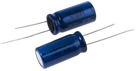 Vishay 2200μF Electrolytic Capacitor 16V dc, Through Hole - MAL215055222E3 (5)