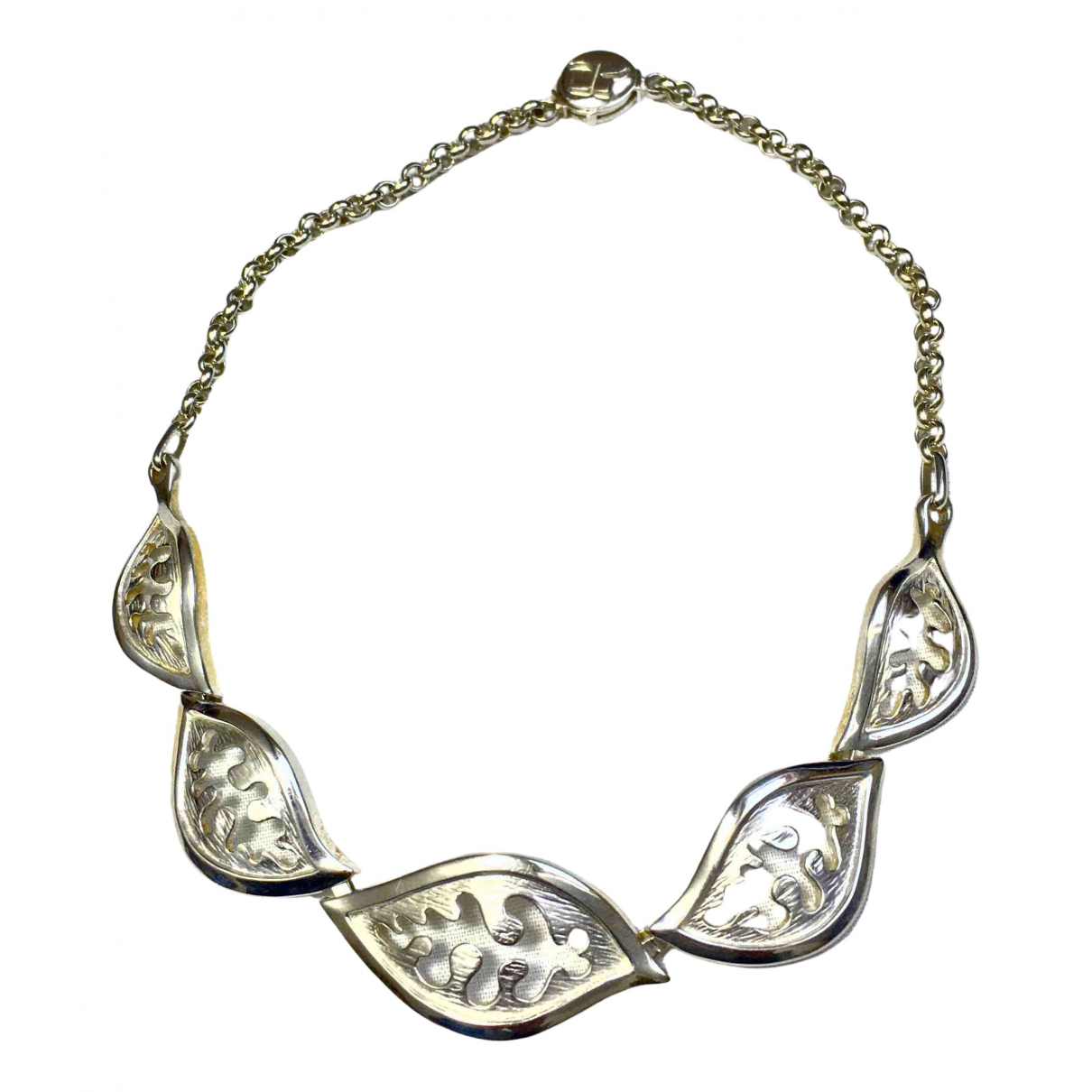 Courrèges N Silver Metal necklace for Women N