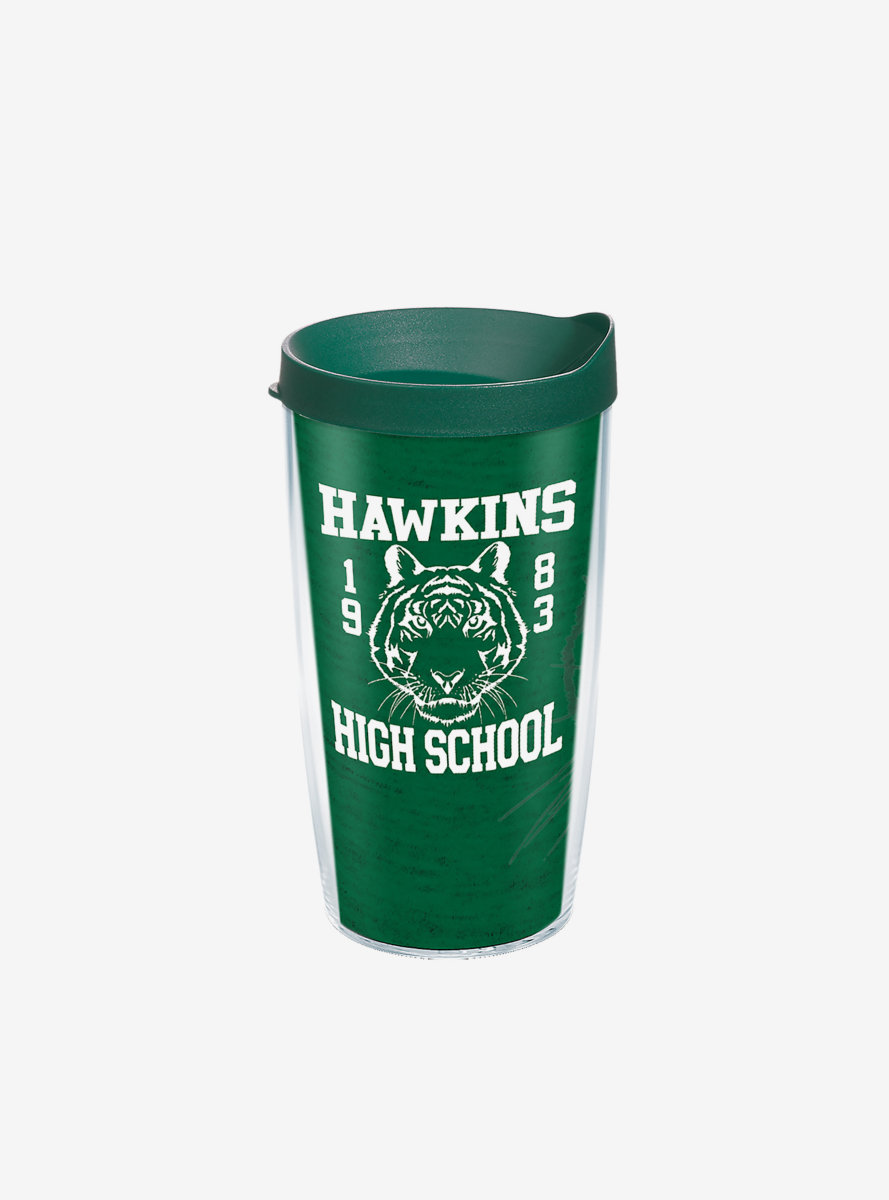 Stranger Things Hawkins High School 16oz Classic Tumbler With Lid