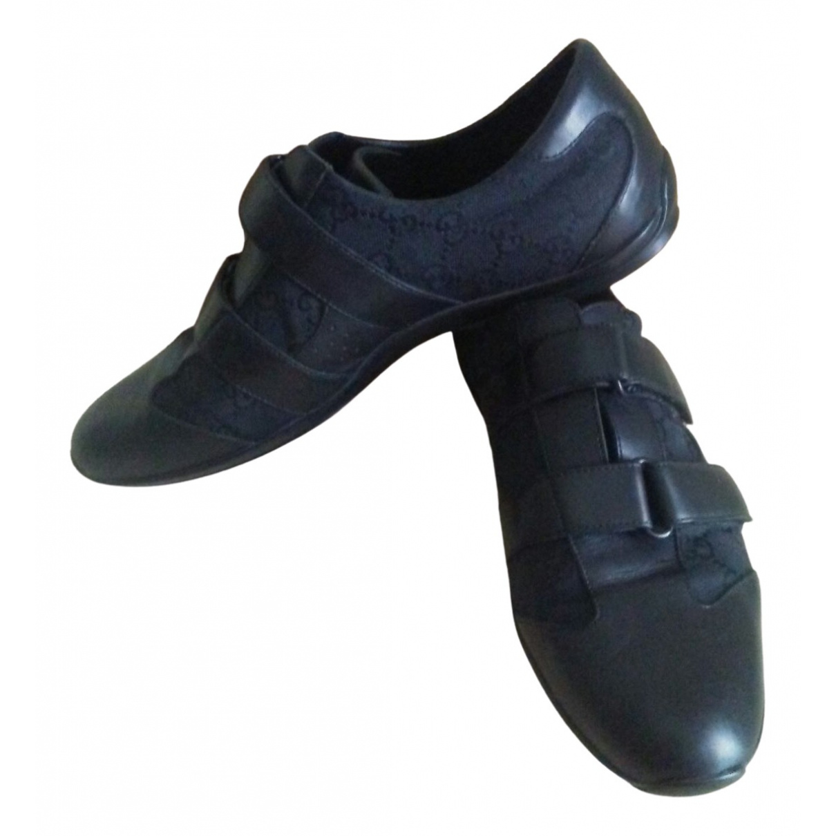 Gucci \N Black Leather Trainers for Men 41 IT