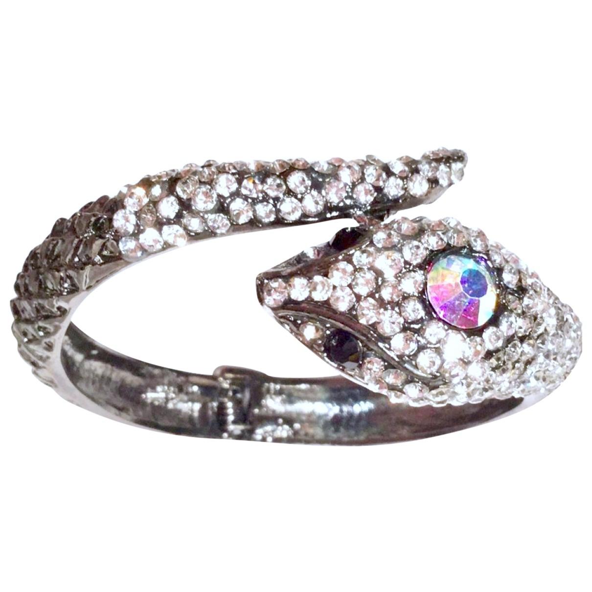 Valentino Garavani - Bracelet   pour femme en metal - argente