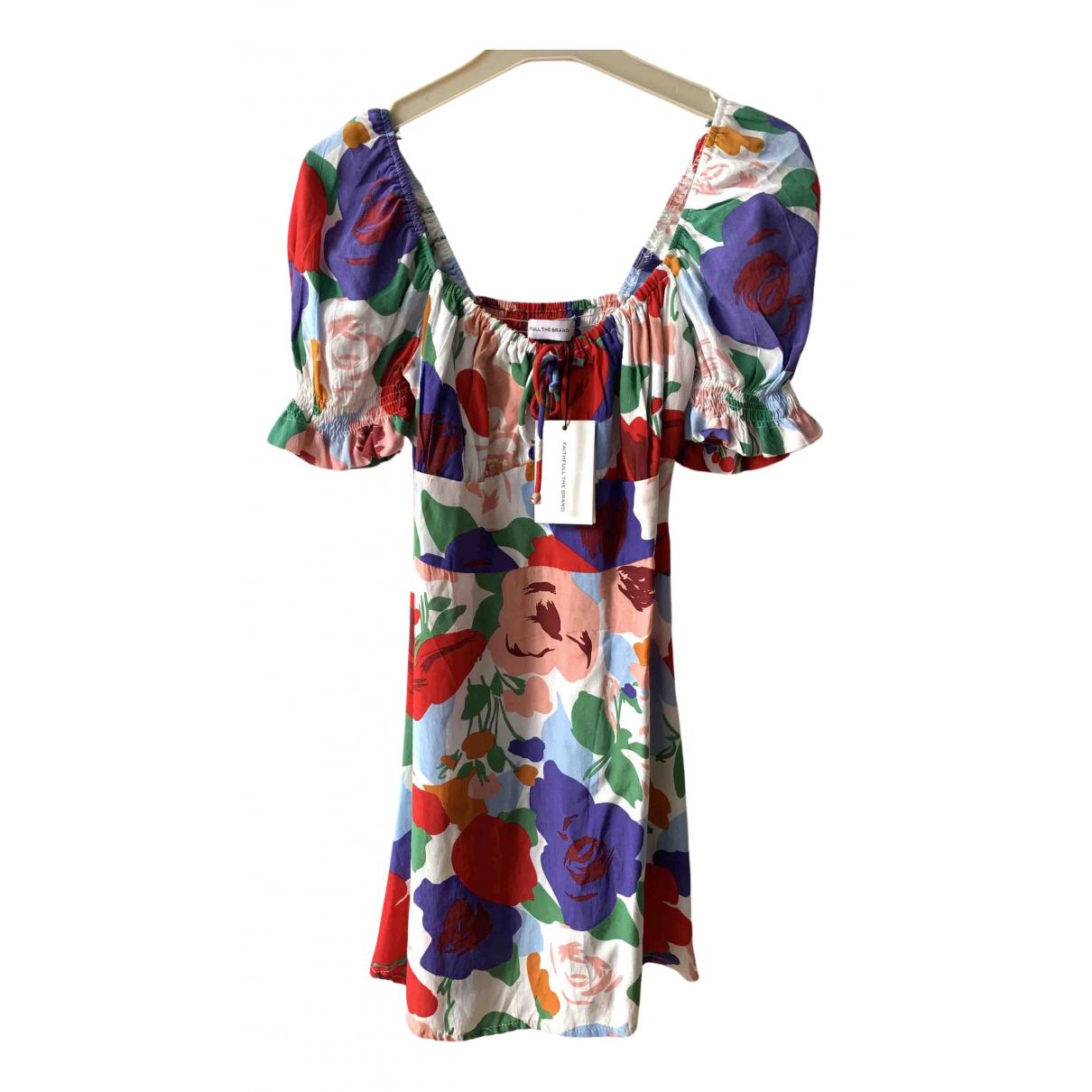 Faithfull The Brand N Multicolour dress for Women XS International