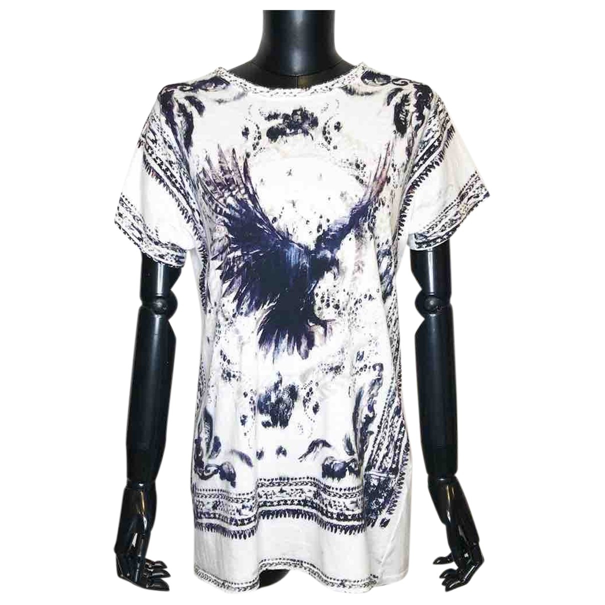 Balmain \N White Cotton  top for Women 36 FR