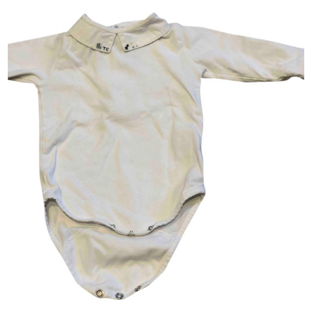 Tartine Et Chocolat - Top   pour enfant en coton - blanc