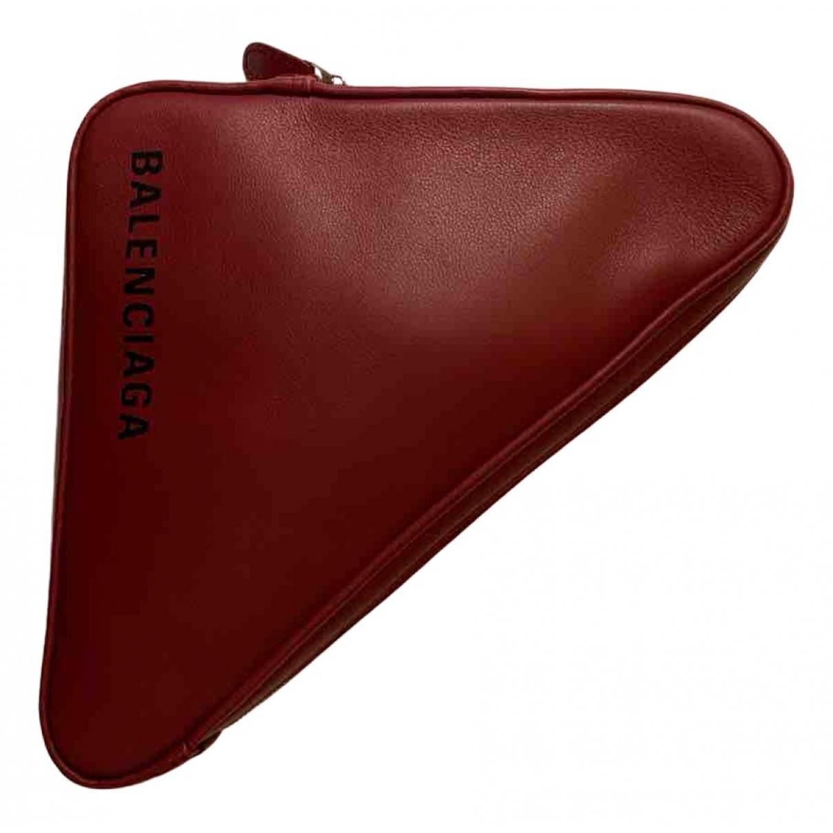 Pochette Triangle de Cuero Balenciaga