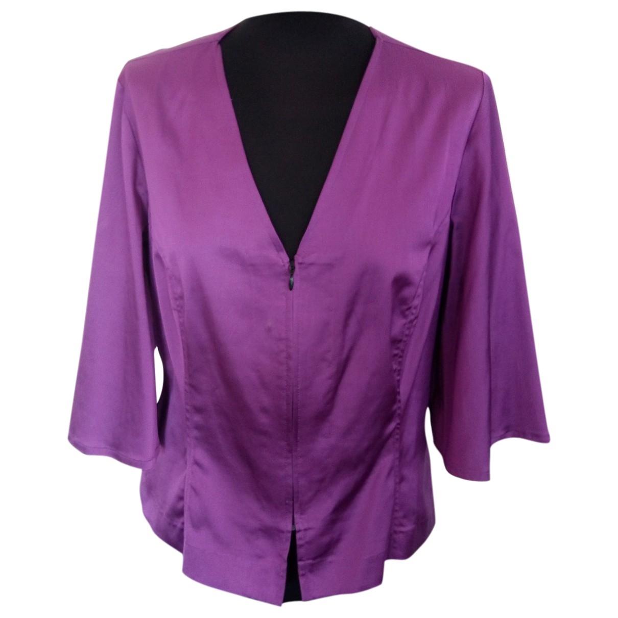 - Veste Hippie Chic pour femme en coton - violet