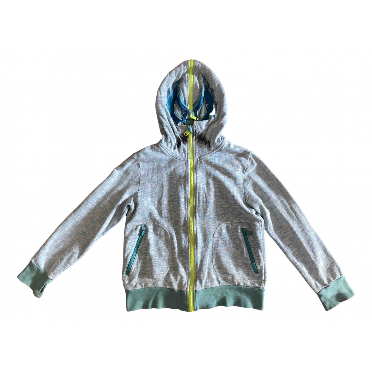 Stella Mccartney Kids \N Turquoise Cotton Knitwear for Kids 8 years - up to 128cm FR