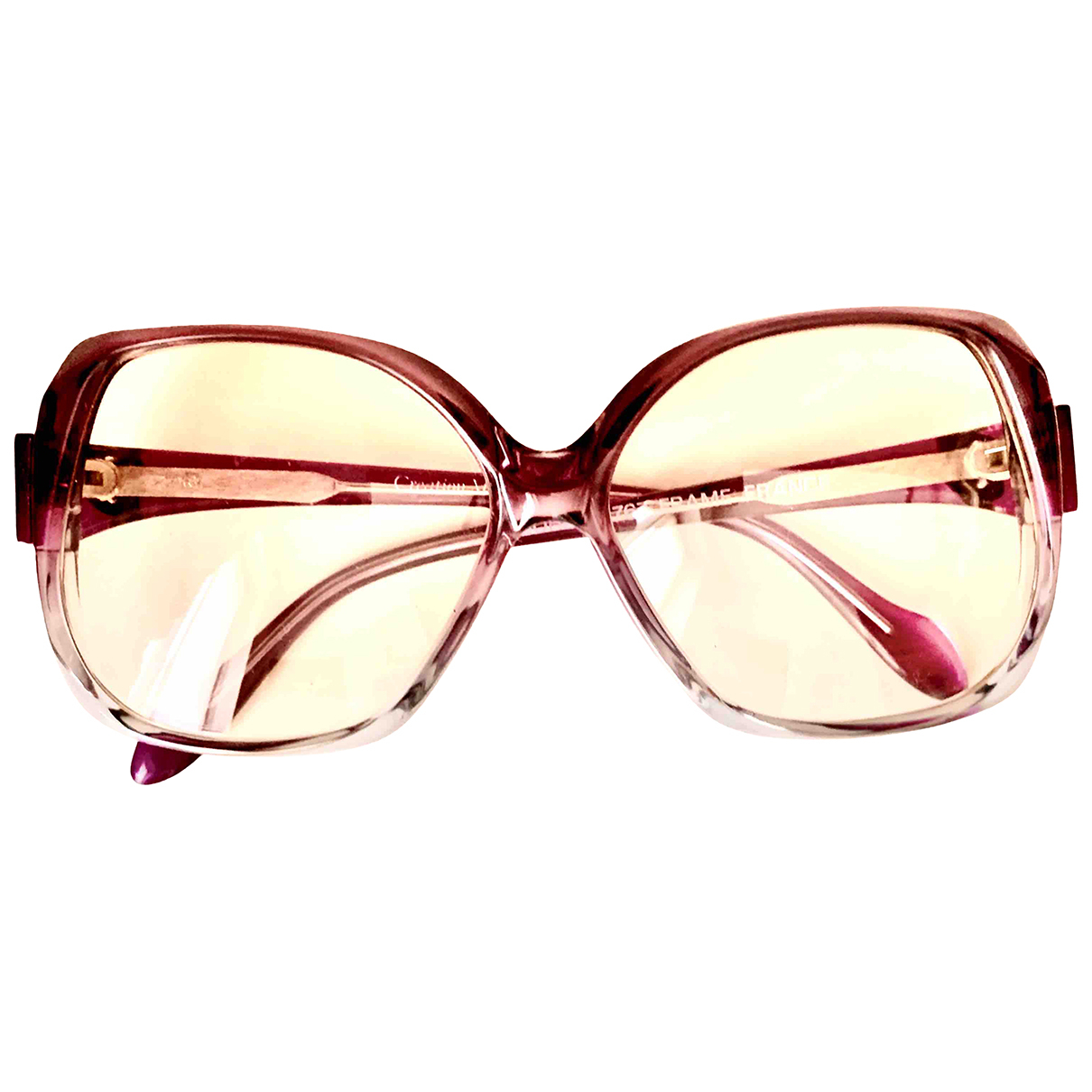 Non Signé / Unsigned \N Purple Sunglasses for Women \N