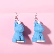 Cartoon Charm Drop Earrings