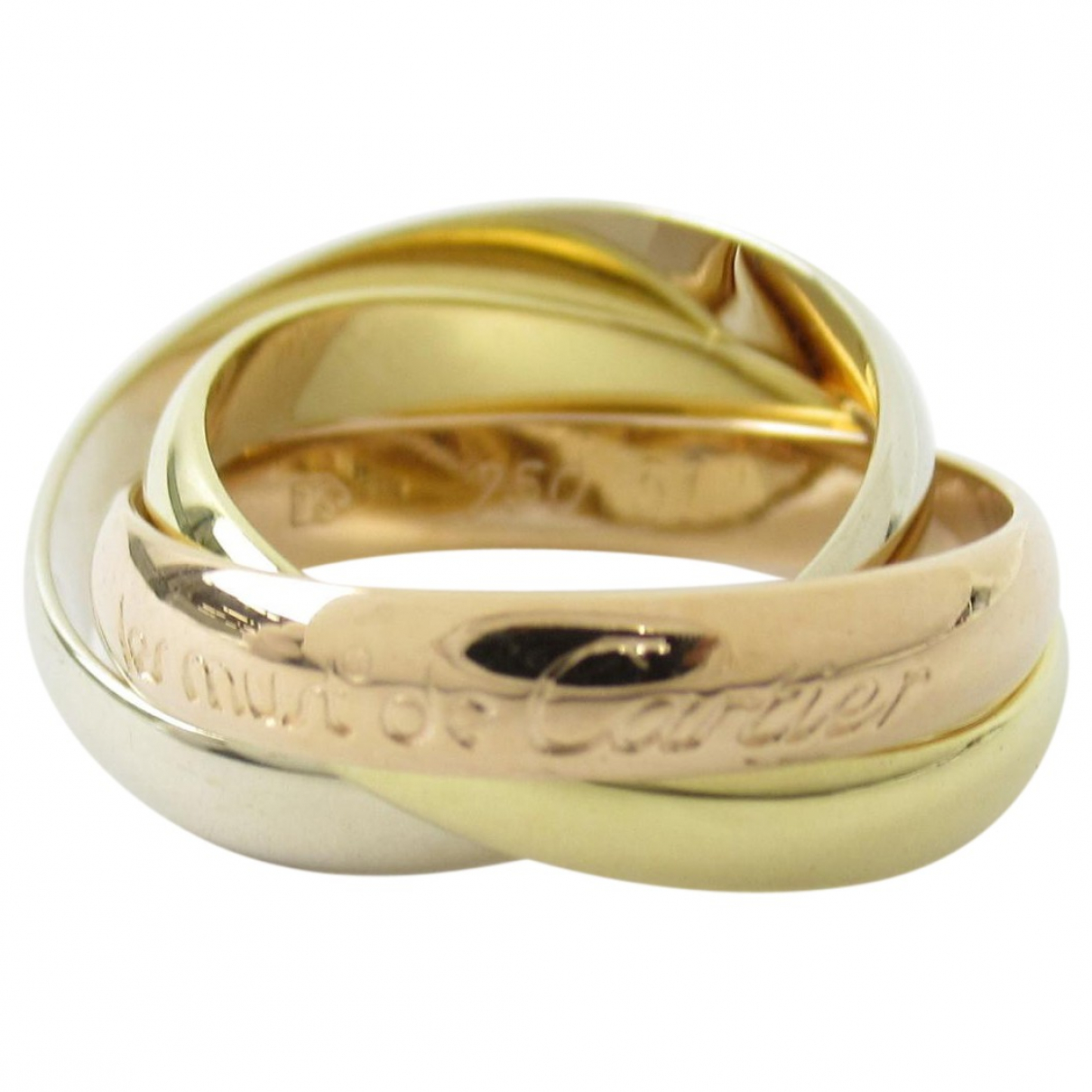 Anillo Trinity de Oro amarillo Cartier