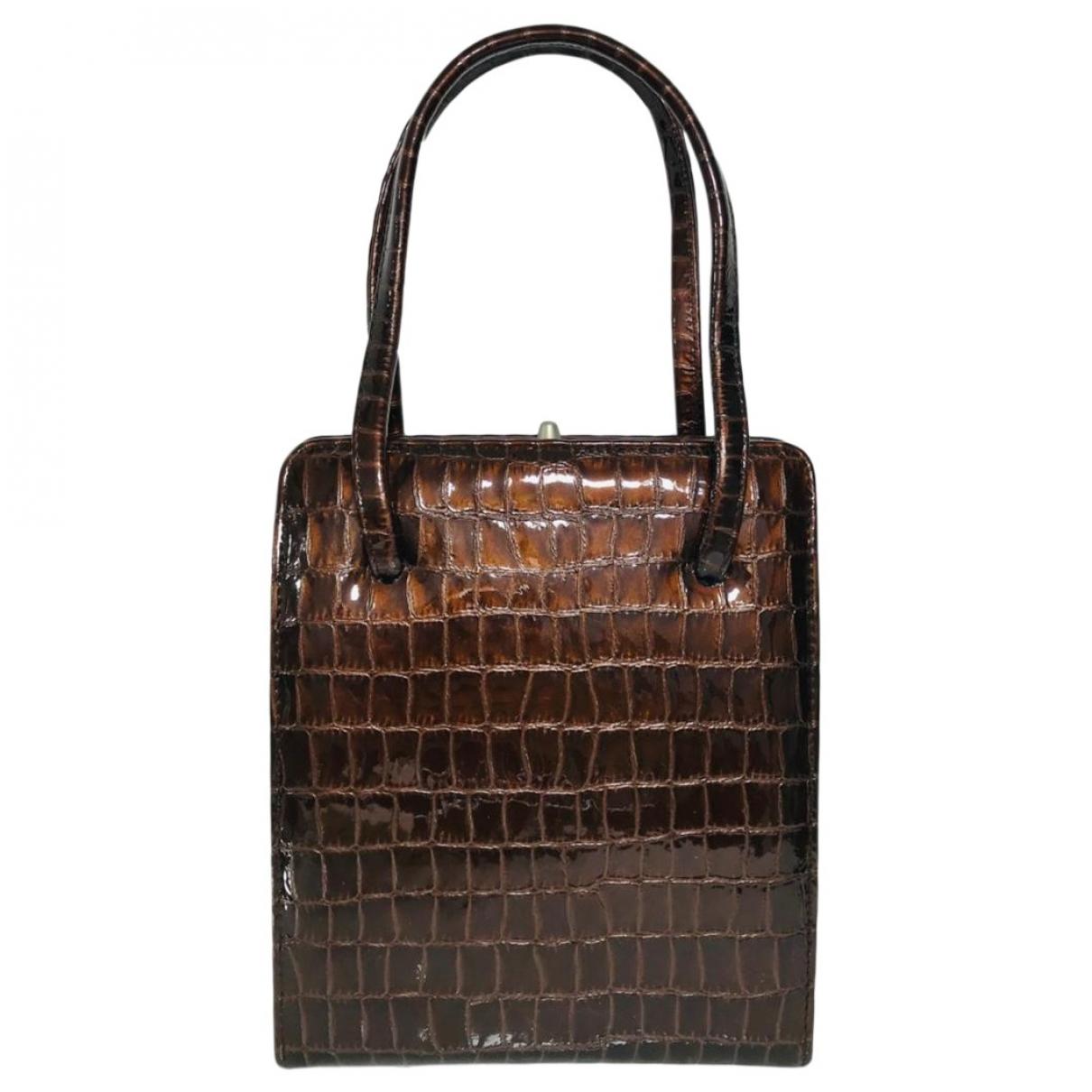 Osprey \N Brown Leather handbag for Women \N