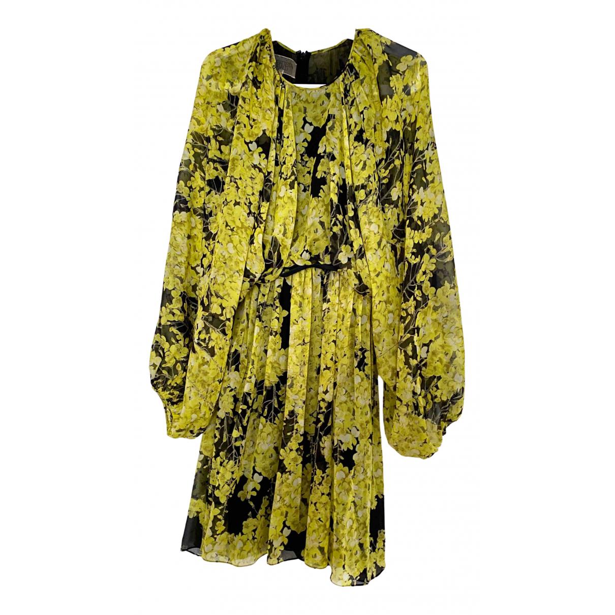 Giambattista Valli \N Kleid in  Gelb Seide