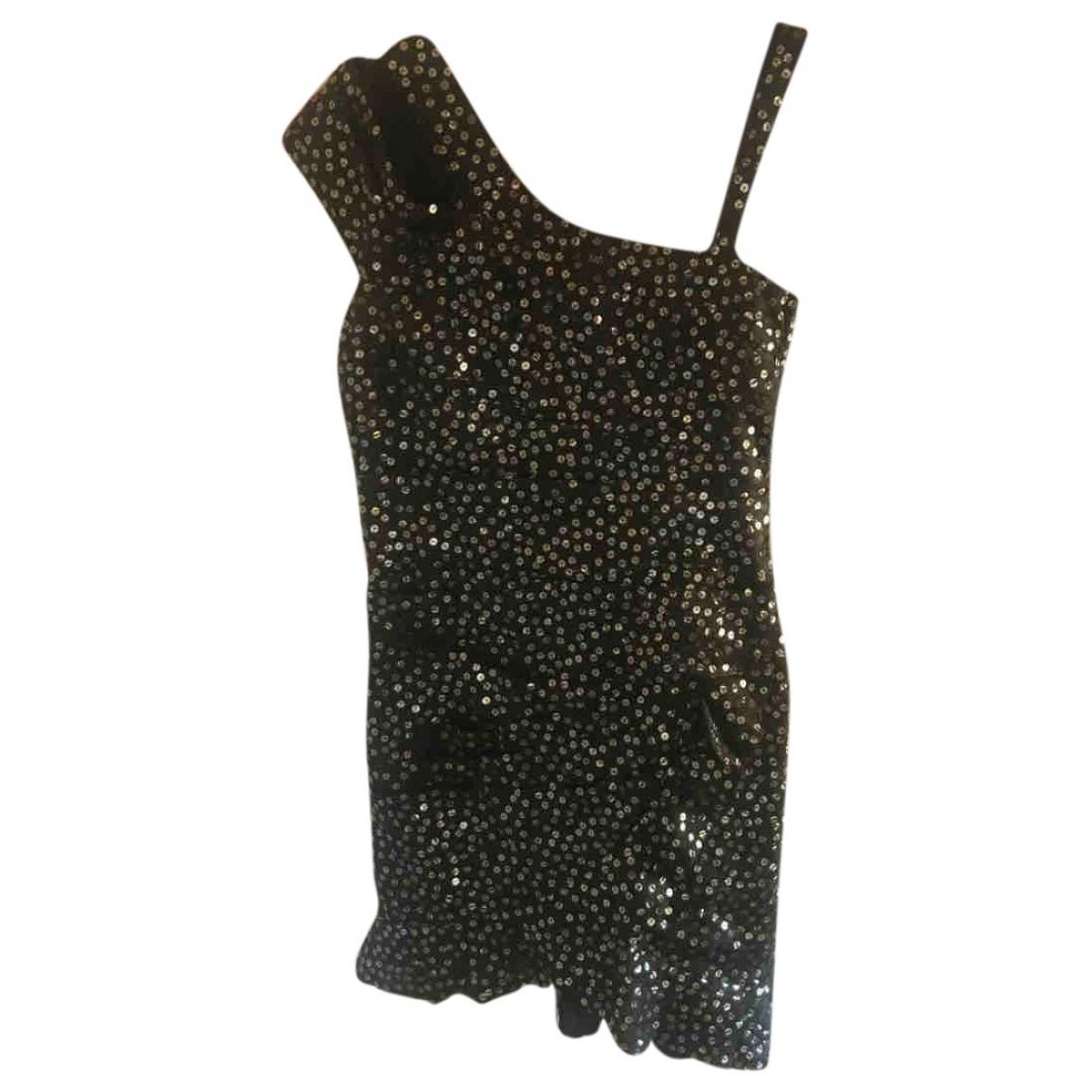 Isabel Marant - Robe   pour femme en a paillettes - noir
