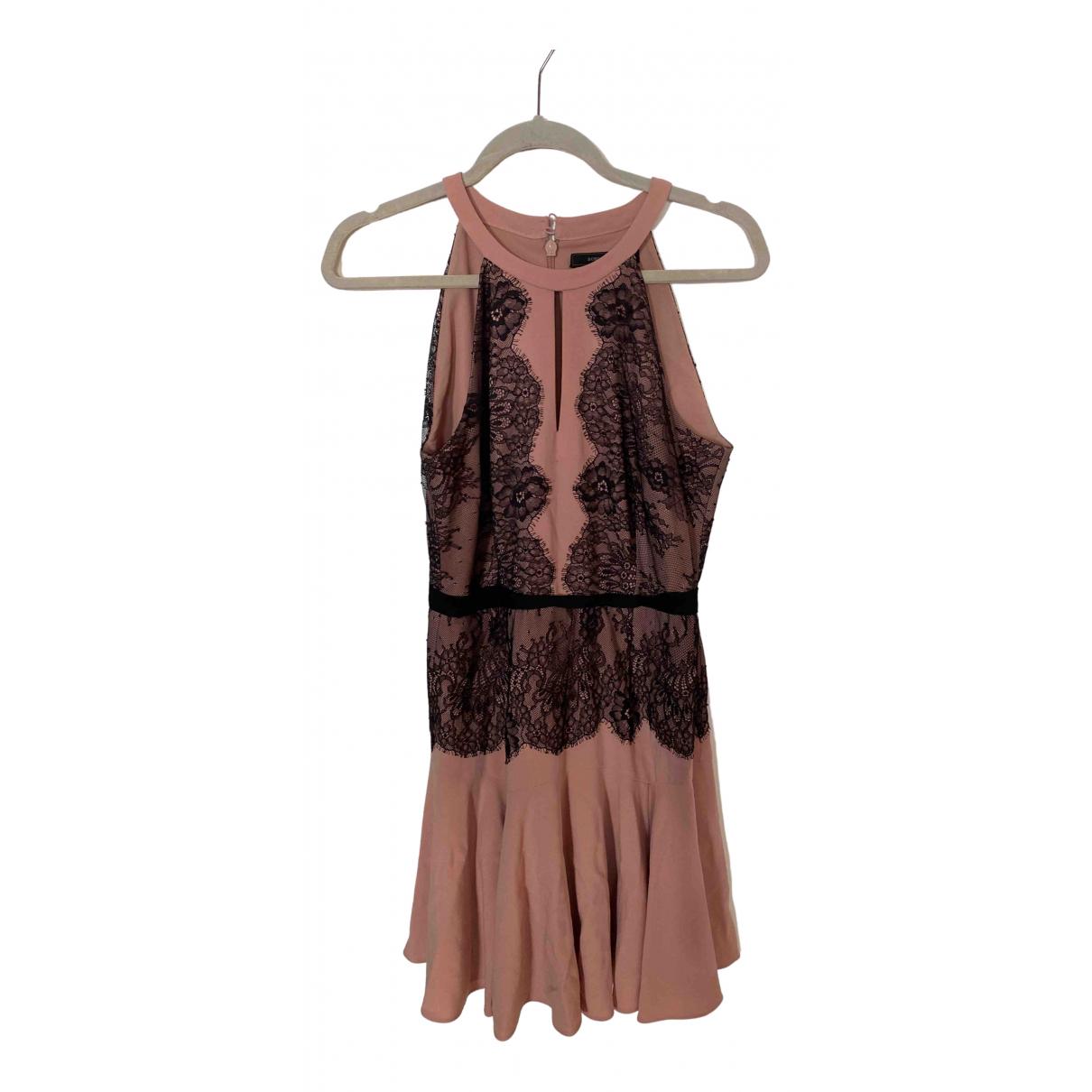 Bcbg Max Azria - Robe   pour femme - rose
