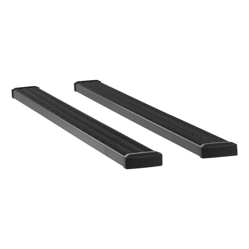 Luverne 415098-401232 Textured Black Powder Coat Aluminum Grip Step 7