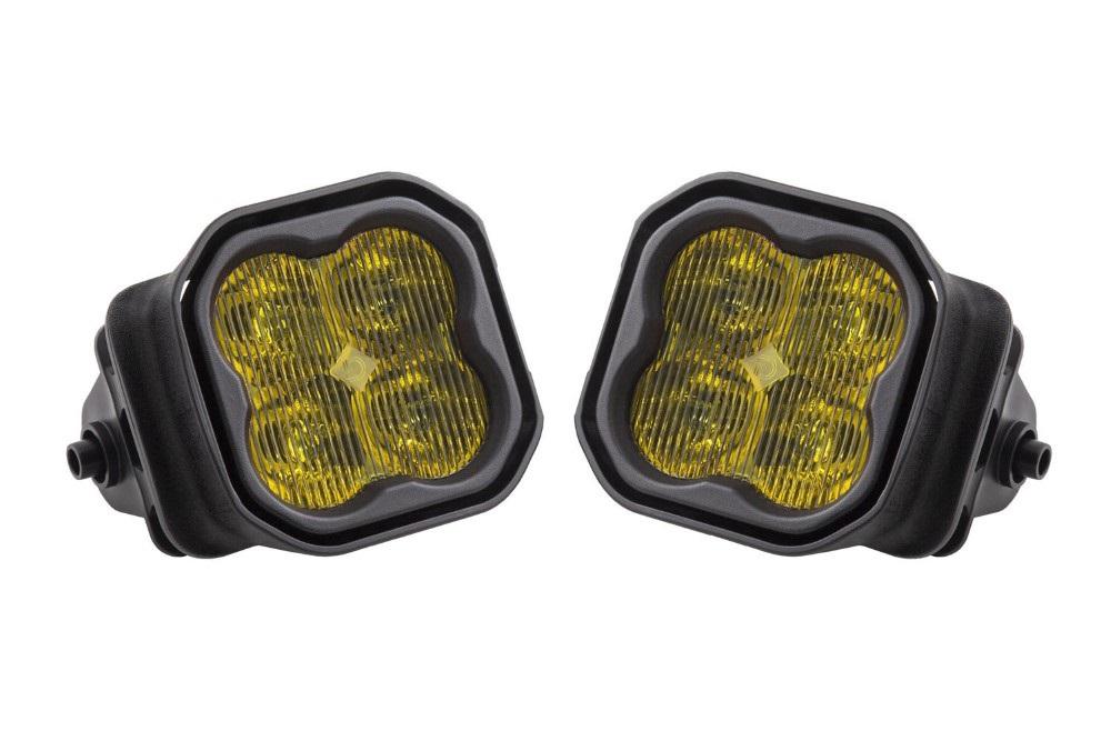 Diode Dynamics DD6240-ss3fog-1028 SS3 LED Fog Light Kit for 2015-2020 Ford F150 Yellow SAE/DOT Fog Sport