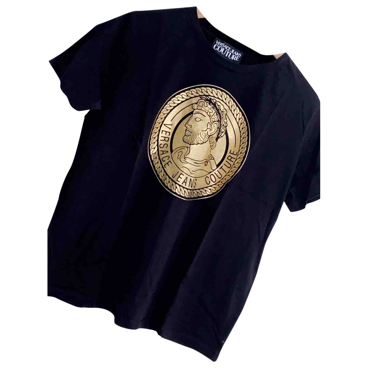 Versace Jeans \N Black Cotton  top for Women L International