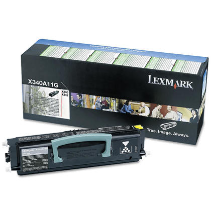 Lexmark X340A11G Original Black Return Program Toner Cartridge