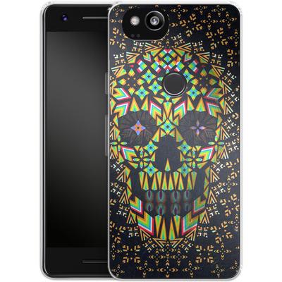Google Pixel 2 Silikon Handyhuelle - Skull 6 von Ali Gulec