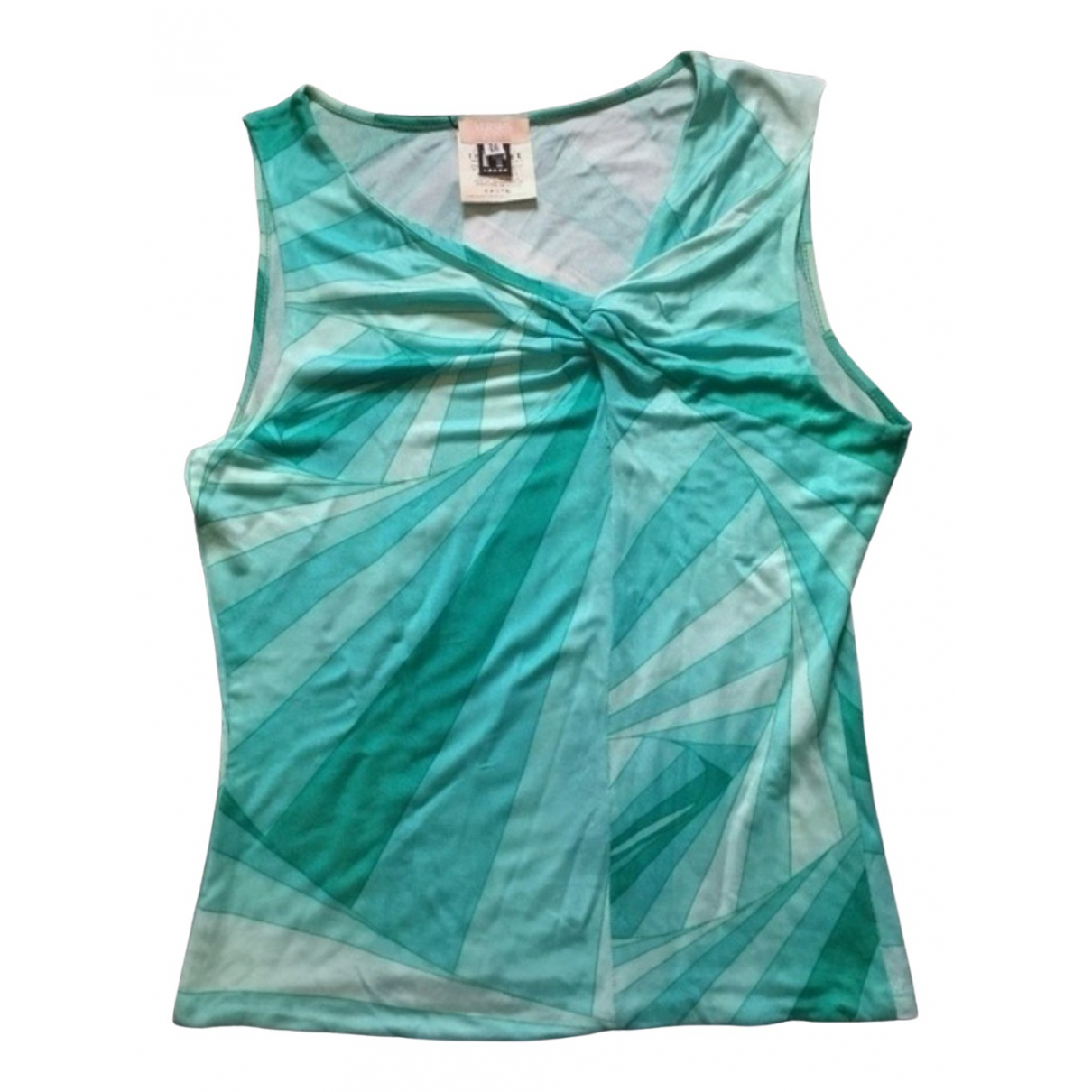 Versace Jean - Top   pour femme - turquoise