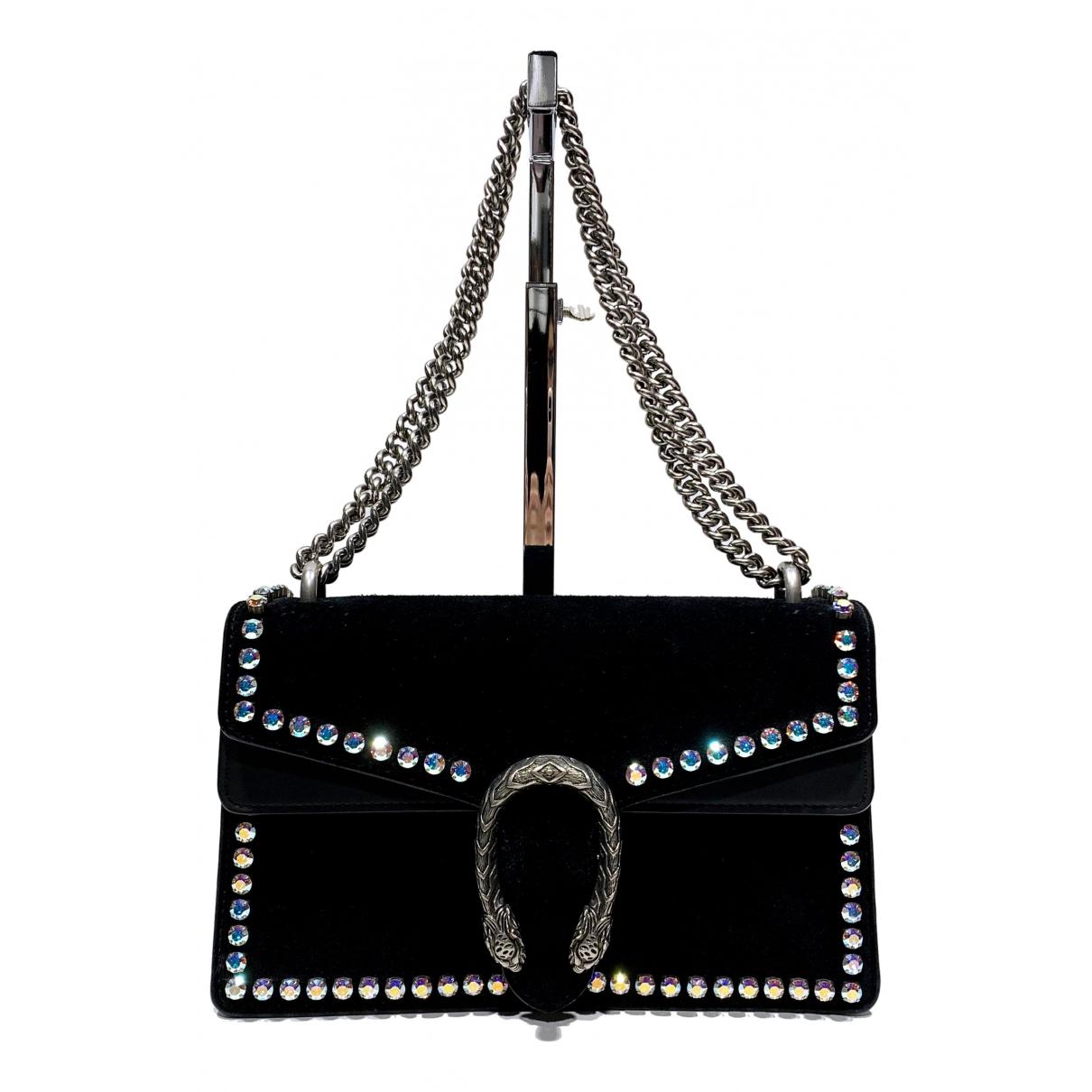 Gucci Dionysus Black Suede handbag for Women N