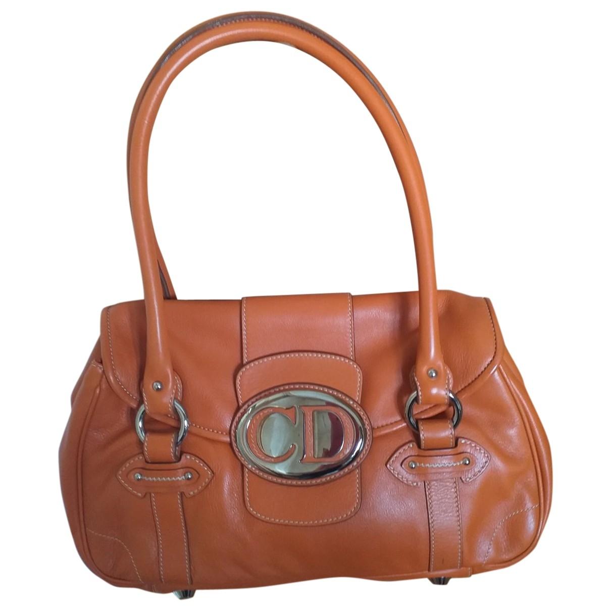 Dior - Sac a main   pour femme en cuir - camel