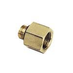 Legris LF3000 250 bar Pneumatic Straight Threaded Adapter, G 3/8 Male To G 3/4 (2)
