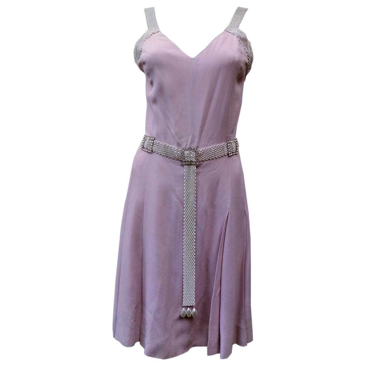 Chloe \N Kleid in  Rosa Wolle