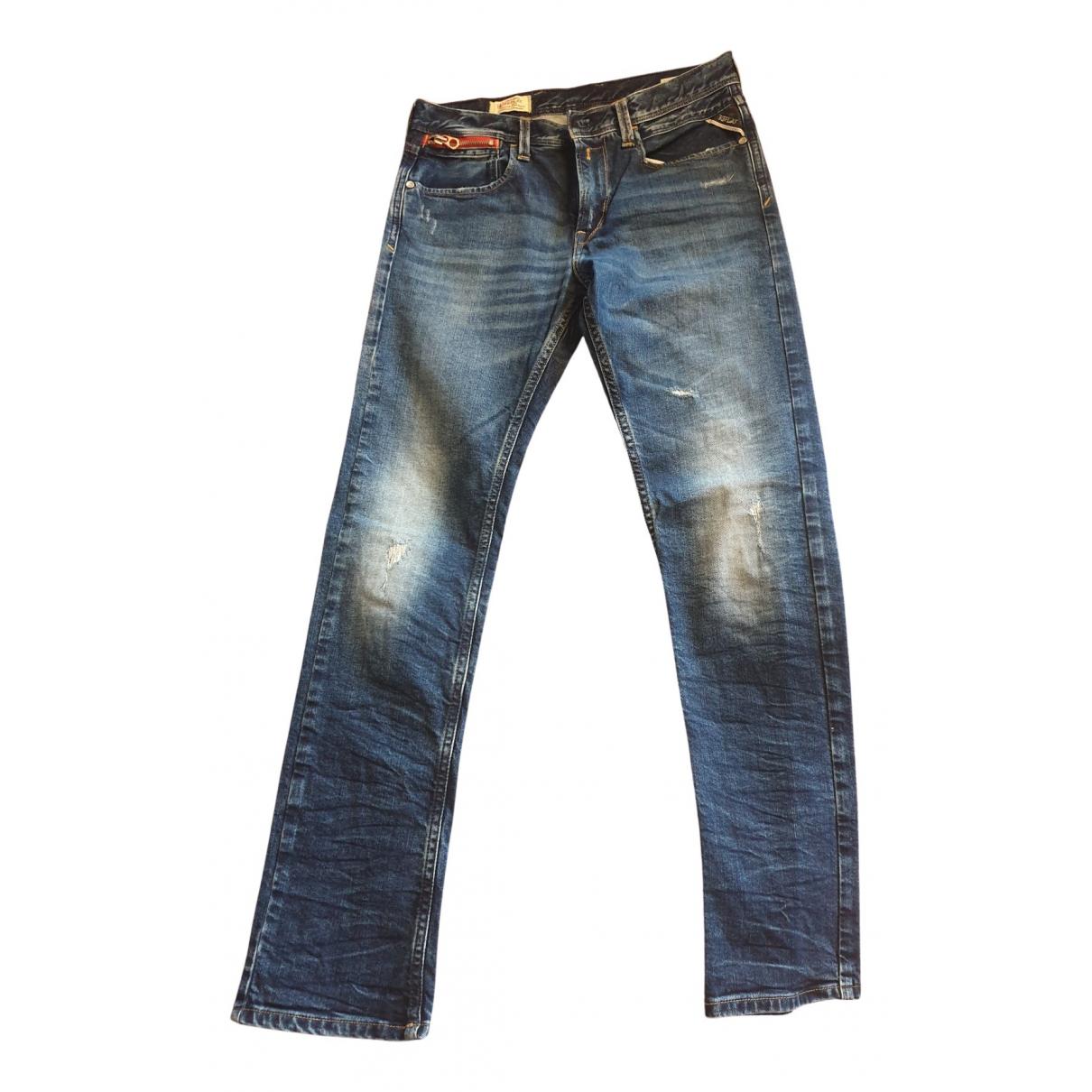 Replay - Pantalon   pour enfant en denim - bleu