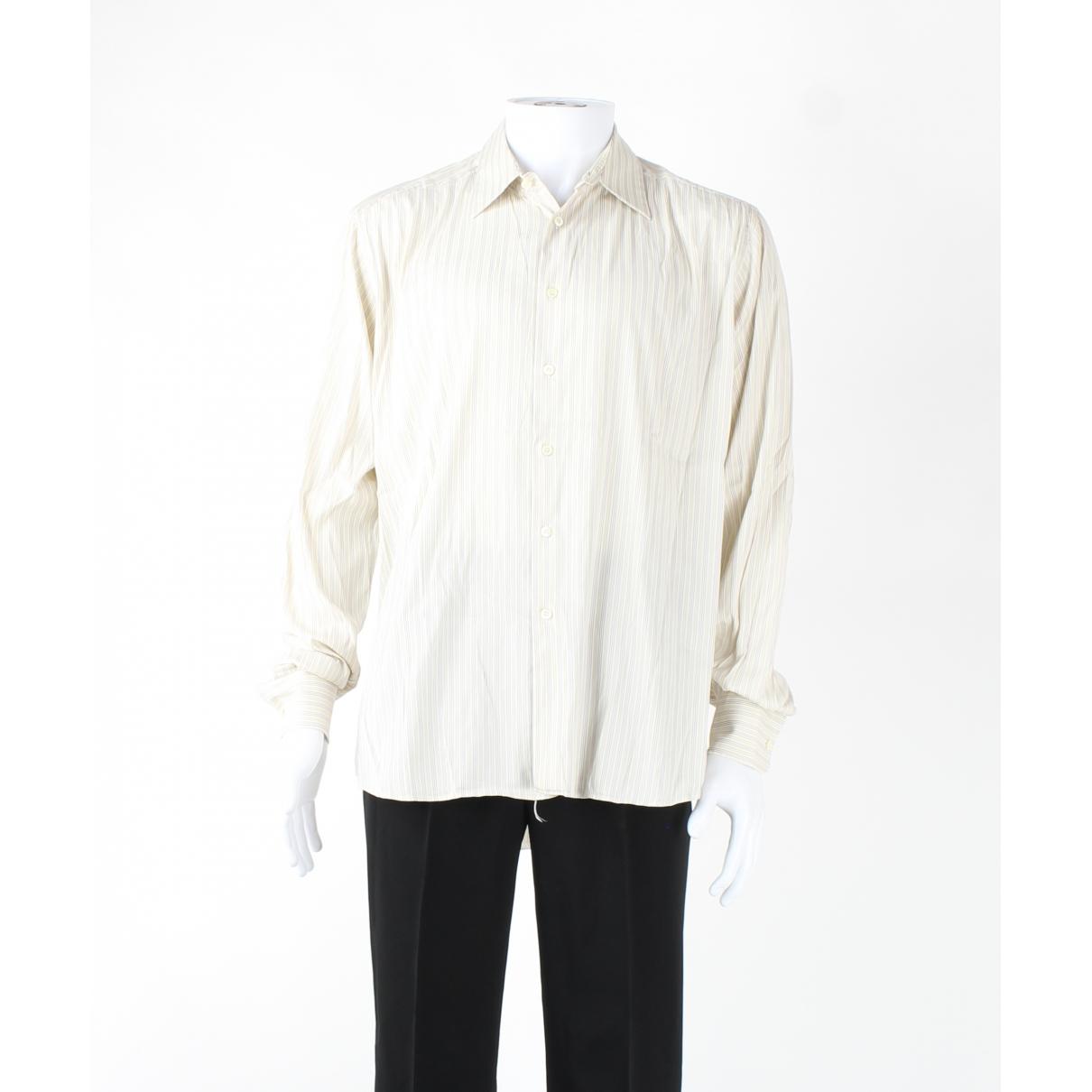 Prada - Chemises   pour homme en coton - ecru