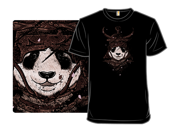 Panda Warrior T Shirt