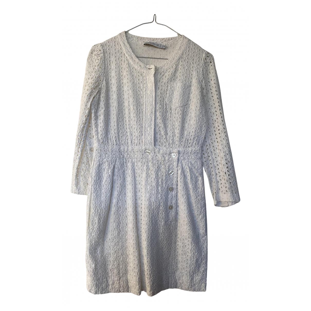 See By Chloe \N Kleid in  Weiss Baumwolle