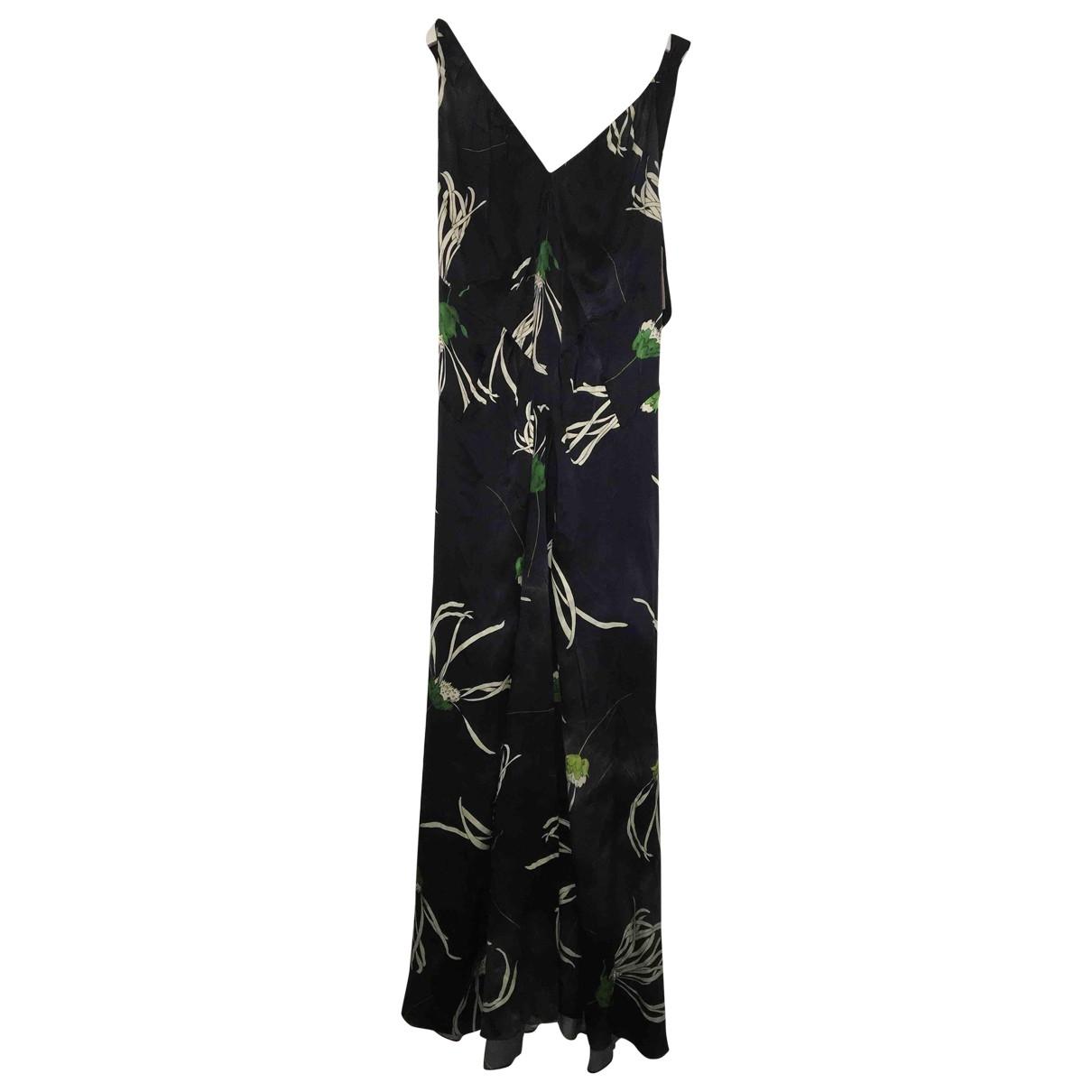 Maxi vestido de Seda Miu Miu