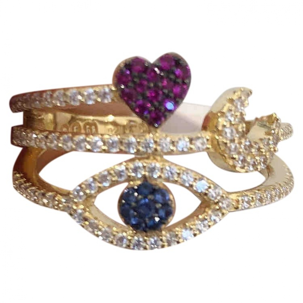 Apm Monaco \N Gold Silver ring for Women 54 MM