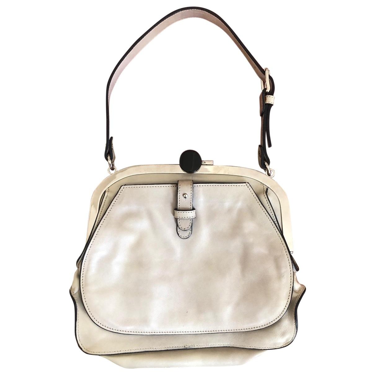 Marni \N Grey Leather handbag for Women \N