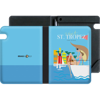 Amazon Kindle Voyage eBook Reader Huelle - ST TROPEZ TRAVEL POSTER von IRMA