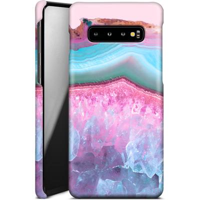 Samsung Galaxy S10 Plus Smartphone Huelle - Serenity Rose Quartz Agate von Emanuela Carratoni