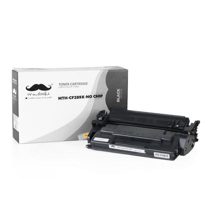Compatible HP LaserJet Managed MFP E52645dn Black Toner Cartridge by Moustache, no chip - High Yield