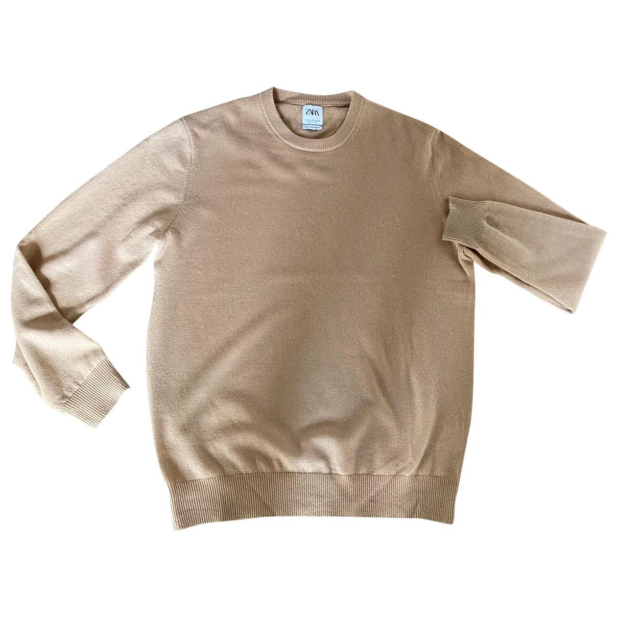 Zara \N Pullover.Westen.Sweatshirts  in  Kamel Kaschmir