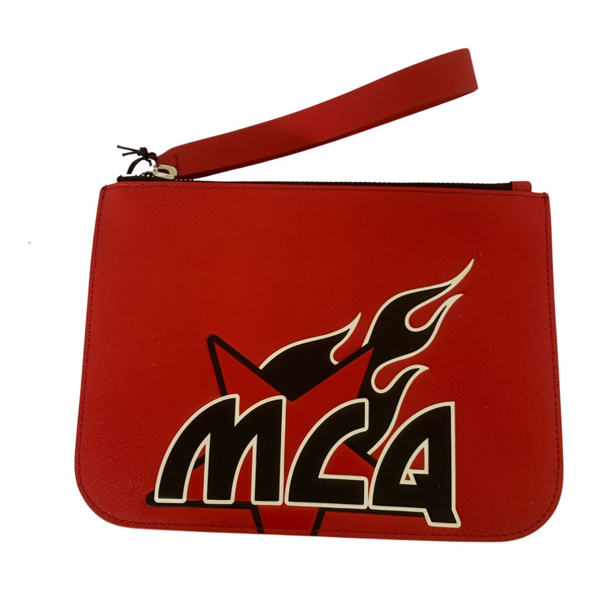 Mcq N Red Leather Clutch bag for Women N
