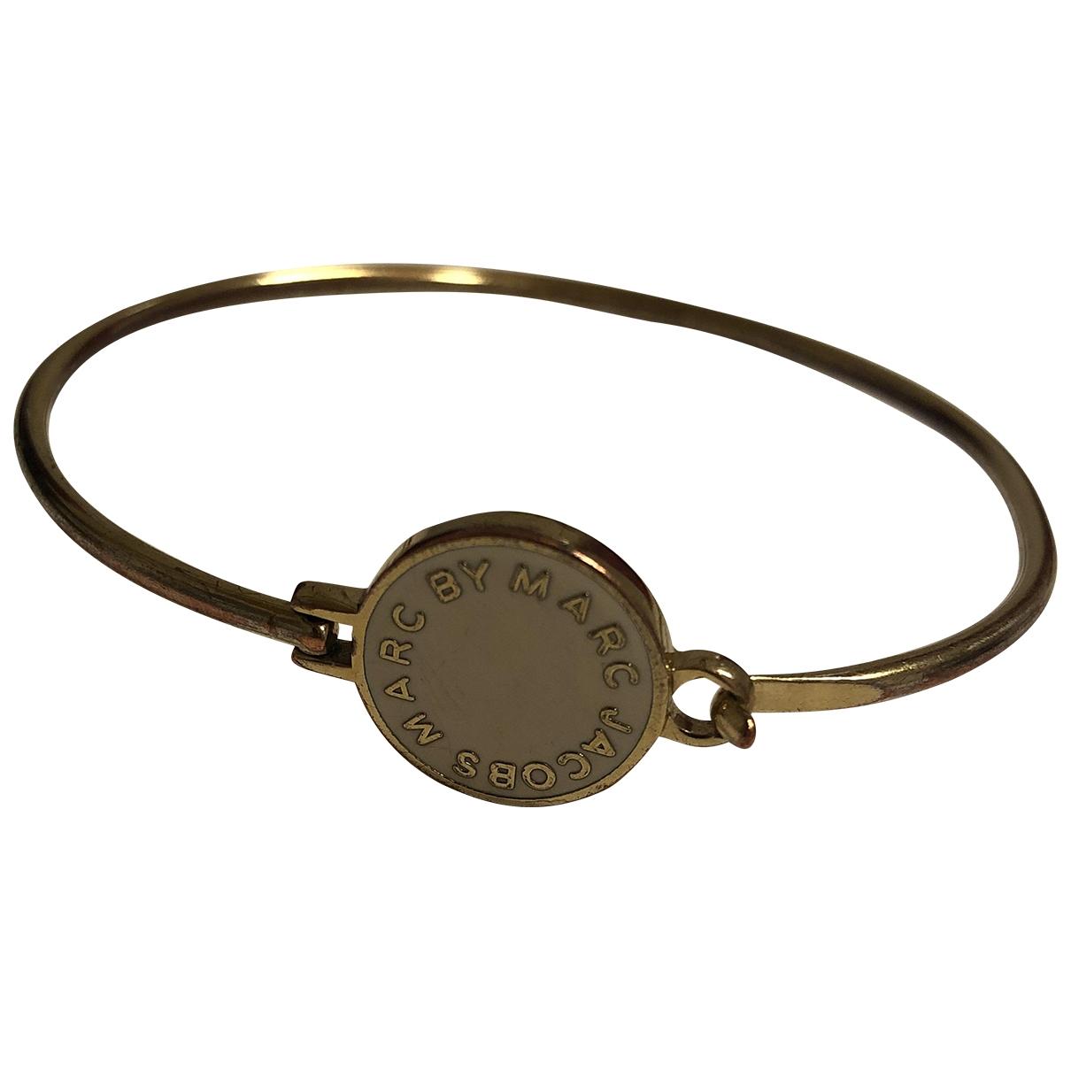Marc By Marc Jacobs - Bracelet   pour femme en plaque or - dore
