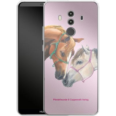 Huawei Mate 10 Pro Silikon Handyhuelle - Pferdefreunde Freundschaft von Pferdefreunde